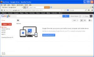 Slika 2 - Pristupanje racunu preko www.drive.google.com