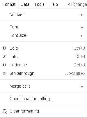 Slika 76 - Kartica Format