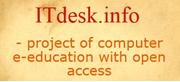 ITdesk.info - logo
